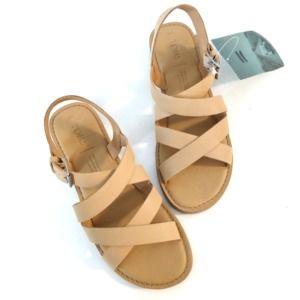 TOMS Sicily Honey Leather sandals, 5B
